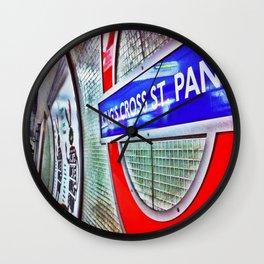 Tube signs-Kings Cross Wall Clock