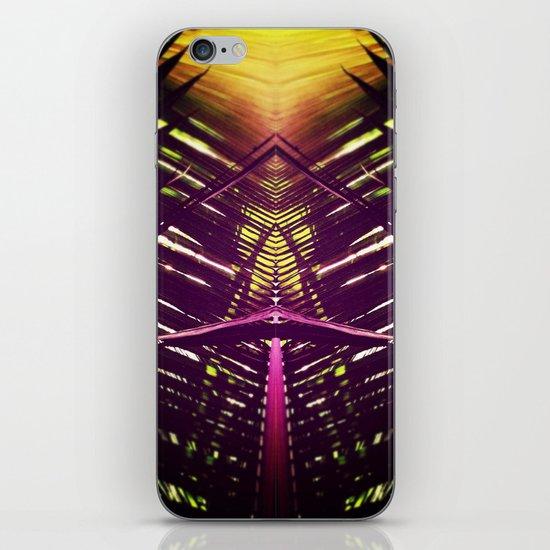 kaleidoscope palm iPhone & iPod Skin