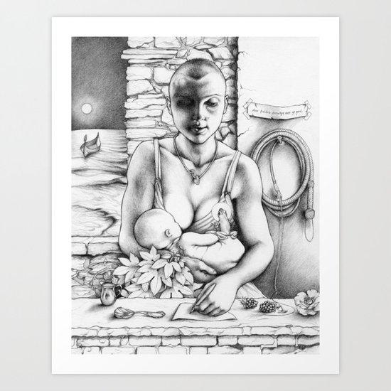 Annwn Art Print