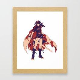 Fire Emblem: Path of Radiance Ike Framed Art Print