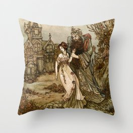 Bluebeard Throw Pillow