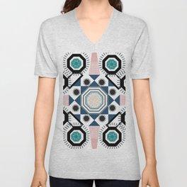 Pastel Mandala Unisex V-Neck