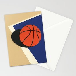 Oakland Basketball Team Stationery Cards