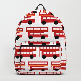 London Red Bus Backpack
