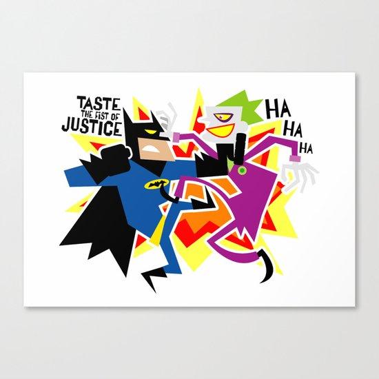The Eternal Struggle! Canvas Print