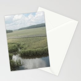 Peaceful Marshy Meadow Stationery Cards