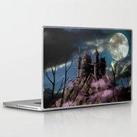 dracula Laptop & iPad Skins featuring Dracula by tanduksapi