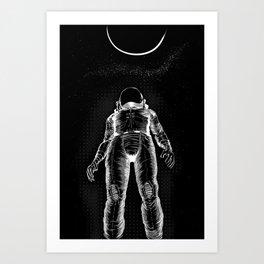 Astroman Art Print