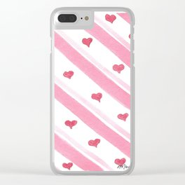 Valentine's 2017 Collection- Sweet Love Clear iPhone Case