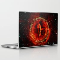 lotr Laptop & iPad Skins featuring Sauron The Dark Lord by neutrone