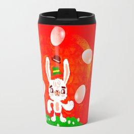 Juggling Rabbit Travel Mug