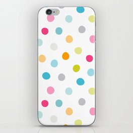 Chickweed Mid Dots iPhone Skin