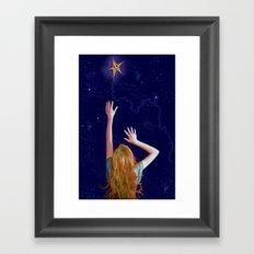 Twinkle, twinkle.. Framed Art Print