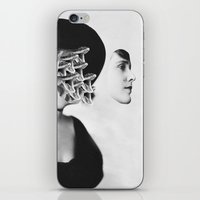 inner demons iPhone & iPod Skins featuring Inner Demons by Tyler Spangler