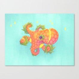 Sweeture: Octopineapple Canvas Print