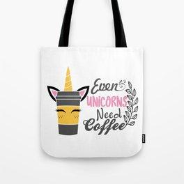 unicorn, coffee, unicorn gift, unicorn t-shirt, unicorn mug Tote Bag