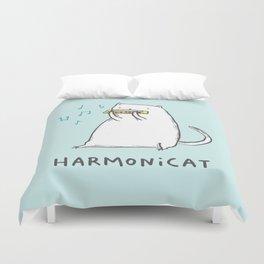 Harmonicat Duvet Cover