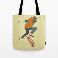 mcfly Tote Bags featuring McFly by Danny Haas