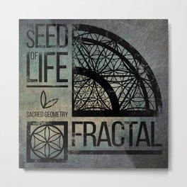 The seed of Life Metal Print