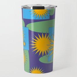 Abstract B2 Travel Mug