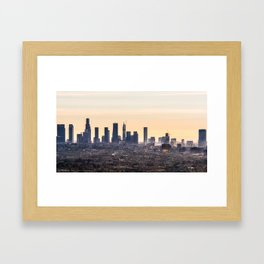 DTLA 001 Framed Art Print