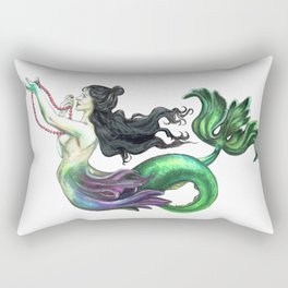 Lusterweibchen Mermaid Rectangular Pillow