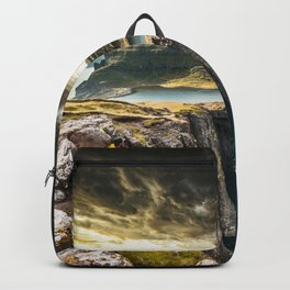 exploring faroe islands Backpack