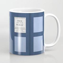 Doctor Who, Tardis Coffee Mug