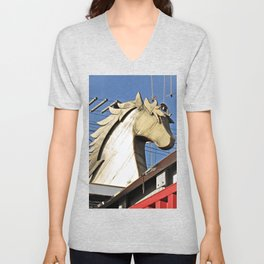Horse of Another Color Unisex V-Neck