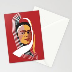 Abstract Frida Kahlo Stationery Cards
