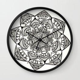 Kaleidoscope Mandala Drawing Wall Clock