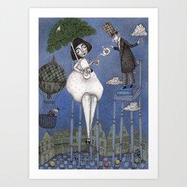 Alice So Tall Art Print