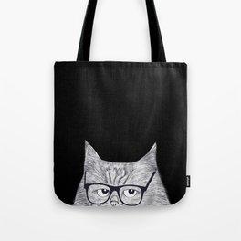 Intelligent cat Tote Bag