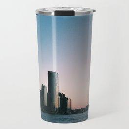 Jersey City Skyline Travel Mug
