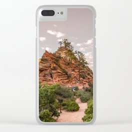 Angel's Rest Clear iPhone Case