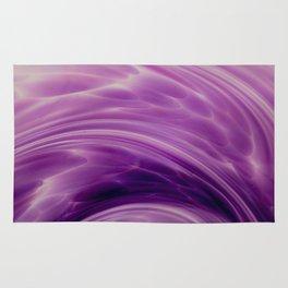 Violet Paths Rug
