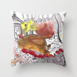 Acamel Throw Pillow