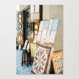 Dubai market Canvas Print