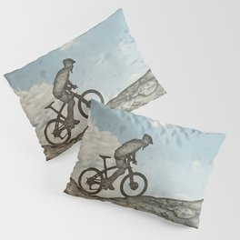 Mountain Biking Pillow Sham