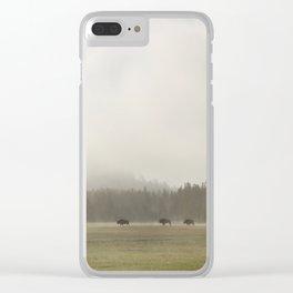 Yellowstone II Clear iPhone Case