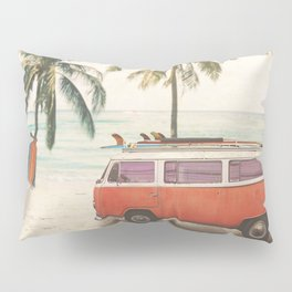 Traveling Time Pillow Sham