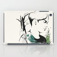 exo iPad Cases featuring Love Me Right - Chen by putemphasis