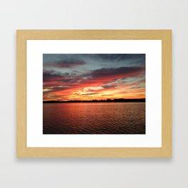Randy's Sunset Framed Art Print
