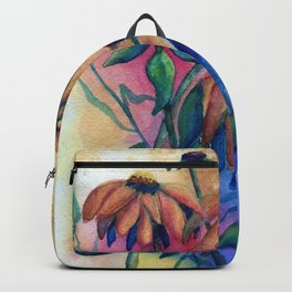 Black Eyed Susans by Maureen Donovan Backpack