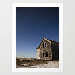 Abandoned South Dakota 0242 Art Print