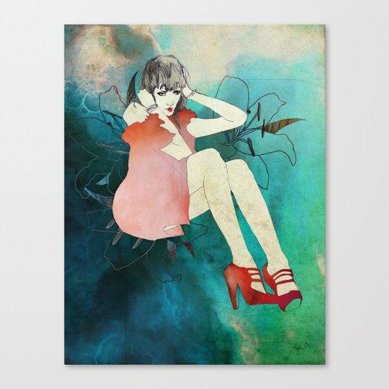 Cosmic Glam Canvas Print