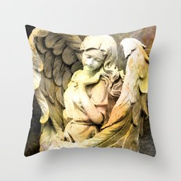 Angels We Have Heard On High Throw Pillow
