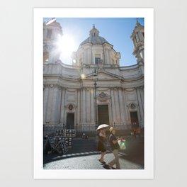 Sunny Rome Art Print