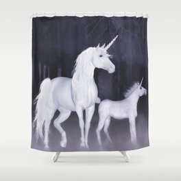 FANTASY - Unicorns Shower Curtain