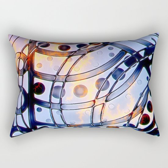 Rage In the Machine Rectangular Pillow